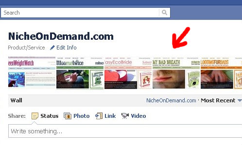 Facebook Fan Page Updates